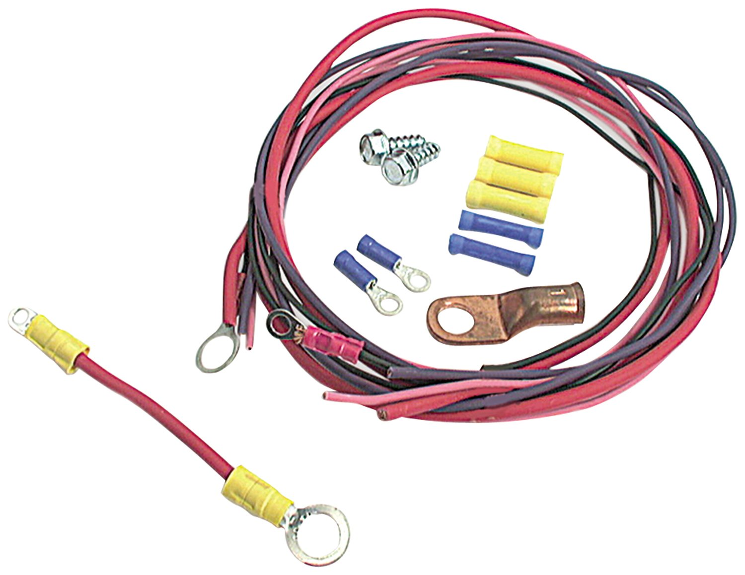 Allstar ALL76201 Solenoid Wiring Kit for Ford Style Solenoid