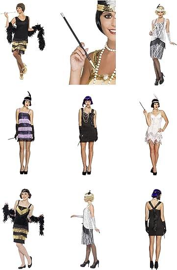 Charleston Flapper Gatsby girl anni 1920 Costume Nubilato