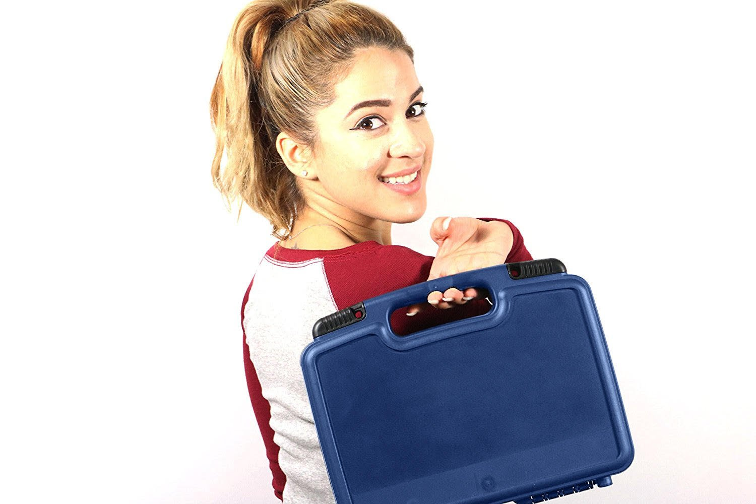 Life Made Better Storage Organizer - Compatible with Tascam DR-05, DR-40, DR-22L, DR-100MKll, DR-44WL Portable Recorder And Accessories- Durable Carrying Case - Blue by Life Made Better