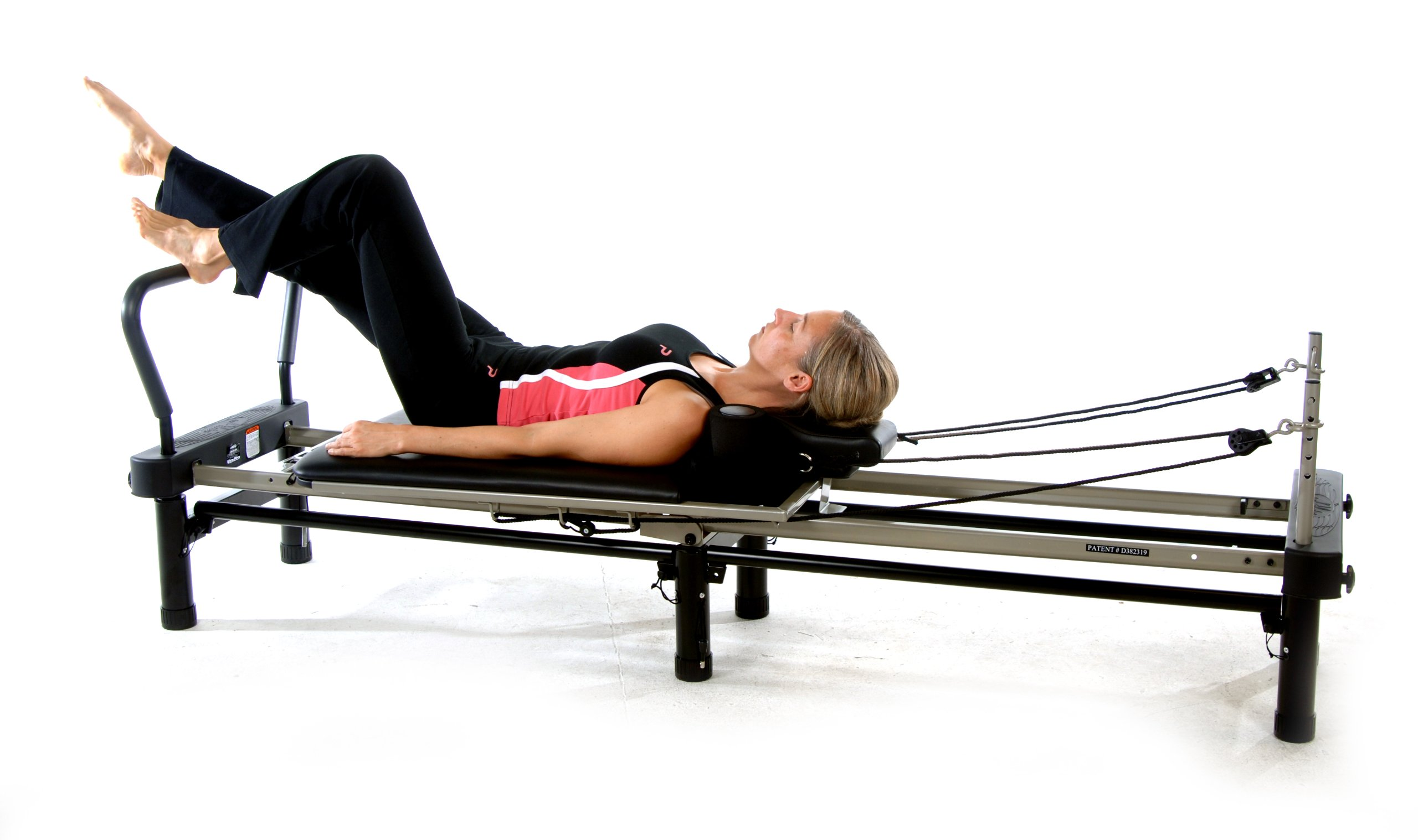 Stamina AeroPilates 700 Premier Reformer with Stand, Cardio Rebounder, Neck Pillow and DVDs by Stamina (Image #11)