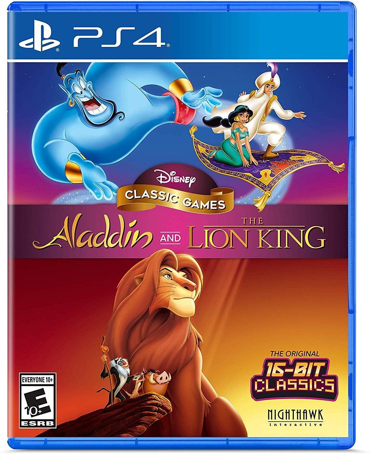 Disney Classic Games: Aladdin and The Lion King - PlayStation 4