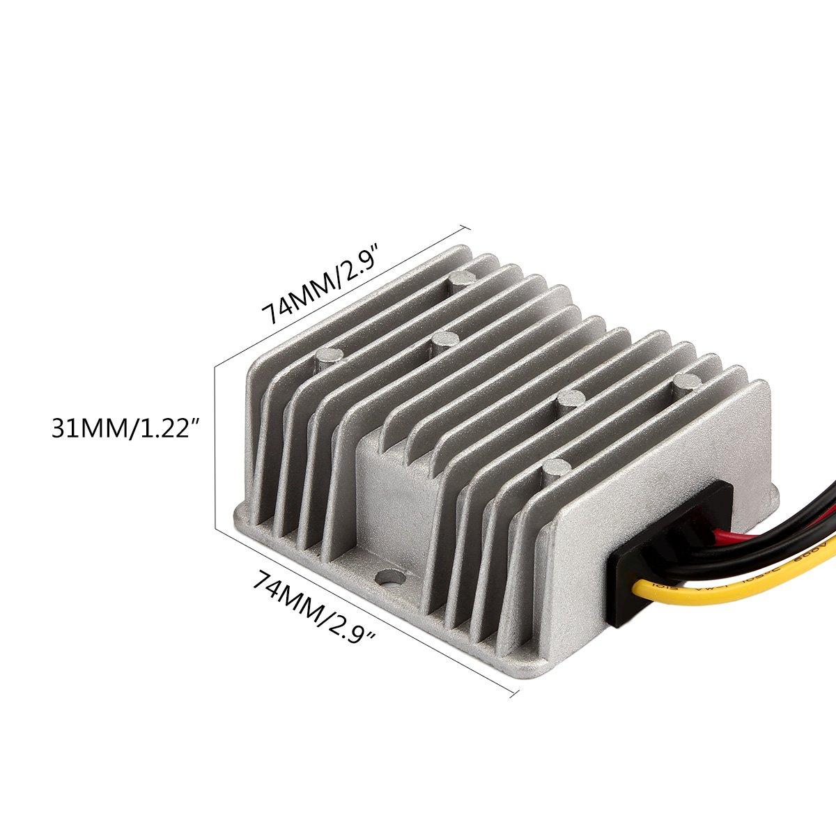 Amazon.com: GOLF CART voltage reducer converter 48V to 12V 10A 120W ...