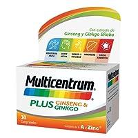 Multicentrum Plus Ginseng & Ginkgo - 30 comprimidos