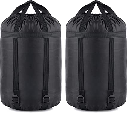 Water-proof Compression Stuff Sack Ultralight Camping Sleeping Bag Storage Pack