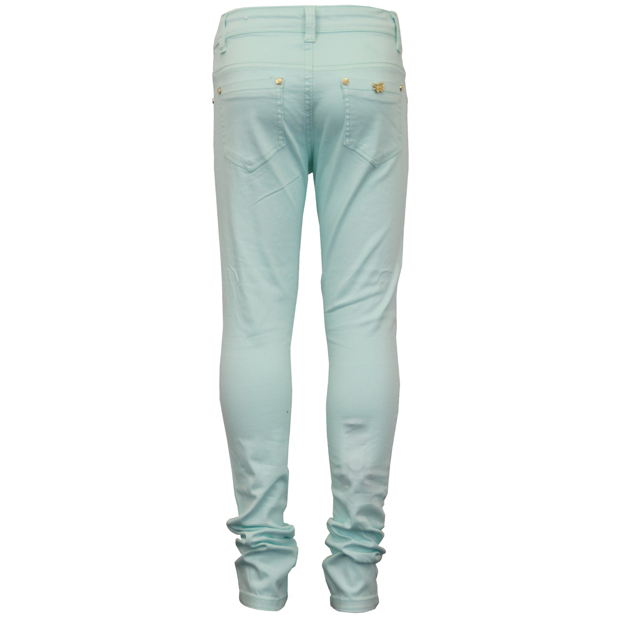 Kid's Look Girls' Jeans BV03 Mint Size 4-3/4 Years