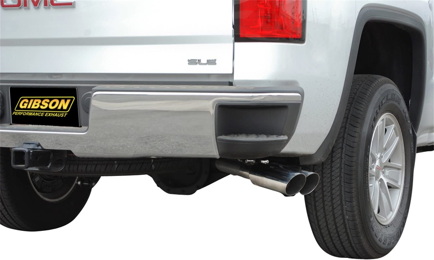 gibson performance exhaust 65656 stainless dual sport cat back performance exhaust system