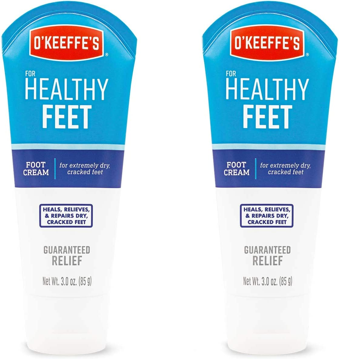 O'Keeffe's Healthy Feet Foot Cream, 3 ounce Tube, (Pack of 2): Home Improvement