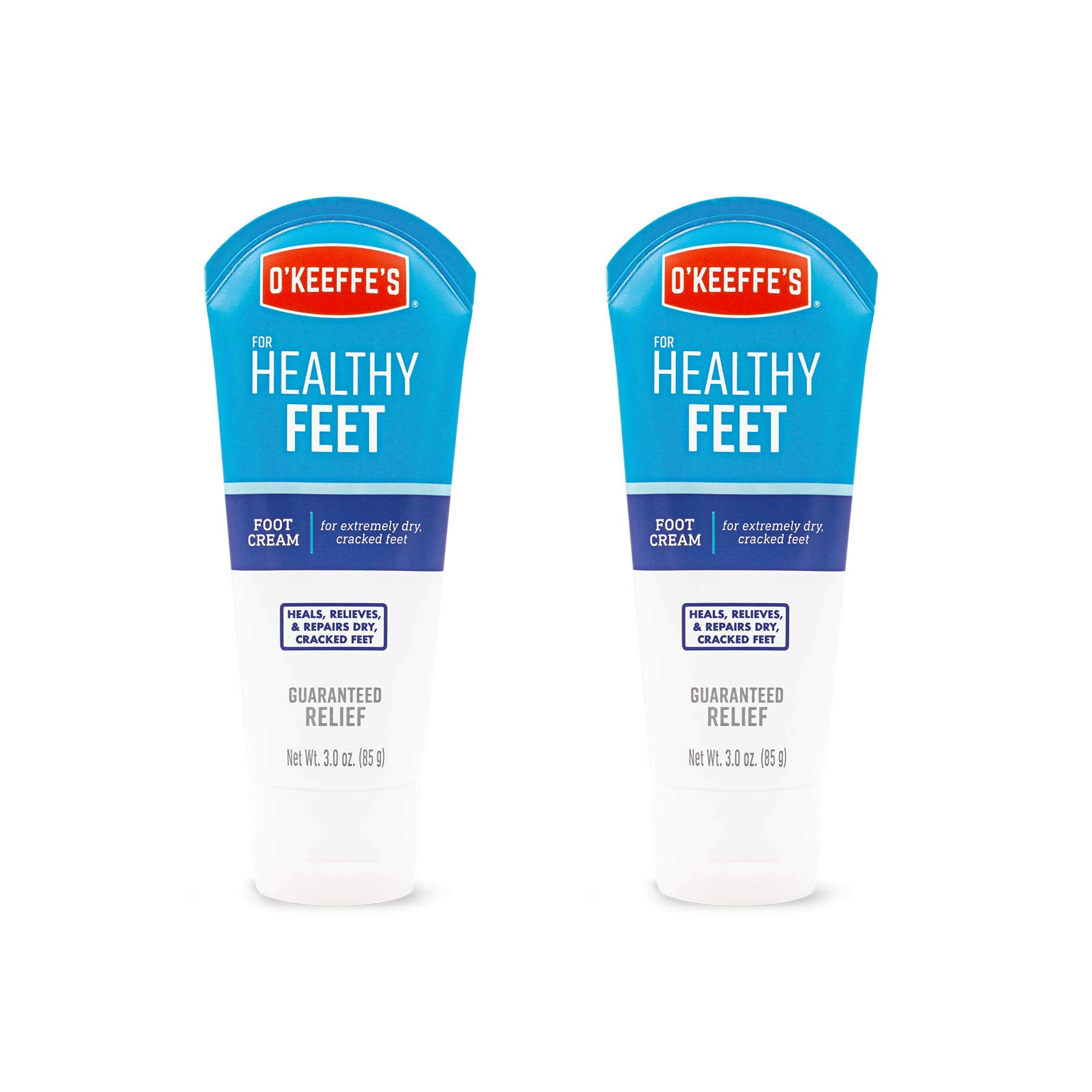 O'Keeffe's Healthy Feet Foot Cream, 3 ounce Tube, (Pack of 2) by O'Keeffe's