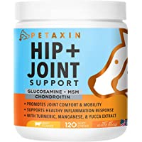 Petaxin Glucosamine Advanced Hip and Joint Supplement 120-Count Chews