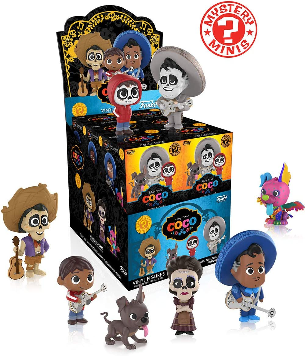 Funko Mystery Mini: Disney Pixar, Coco, Una figura de vinilo ...