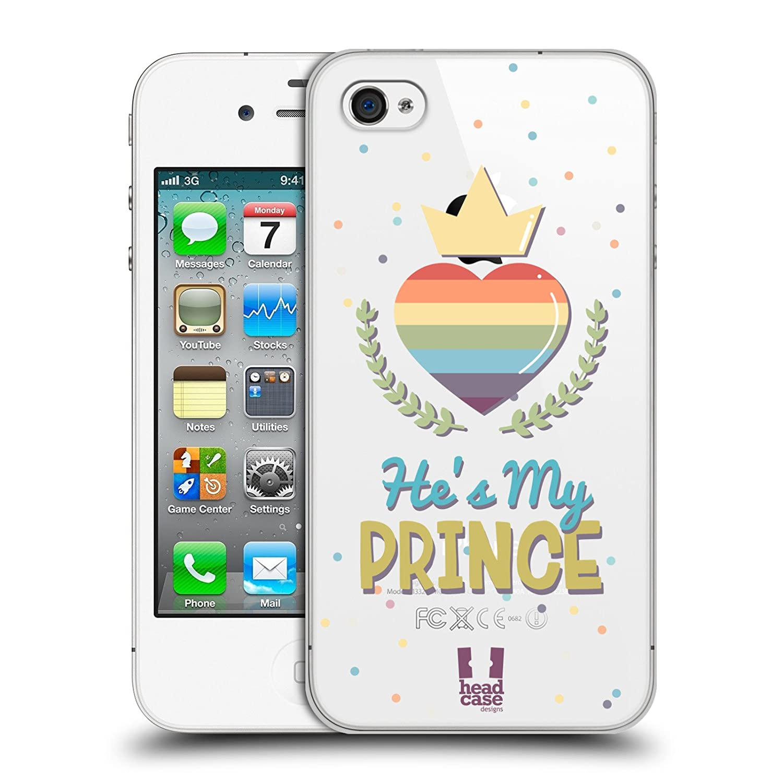 Amazon com: Head Case Designs He's My Prince Pride Love Hard Back