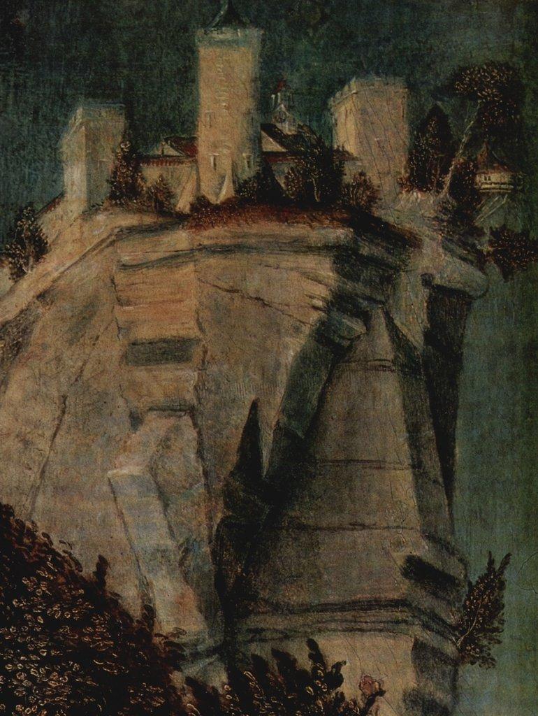 Lais Puzzle Lucas Cranach d. Ä. - Ritter mit zwei Söhnen, Detail 2000 Teile