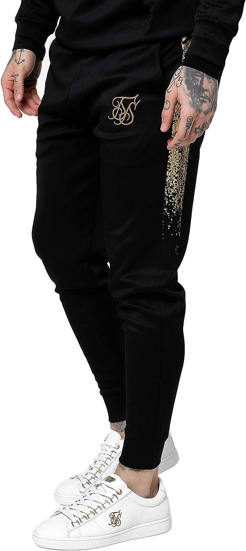 Sik Silk Cuffed Cropped Fade Panel - Pantalones de Deporte para ...