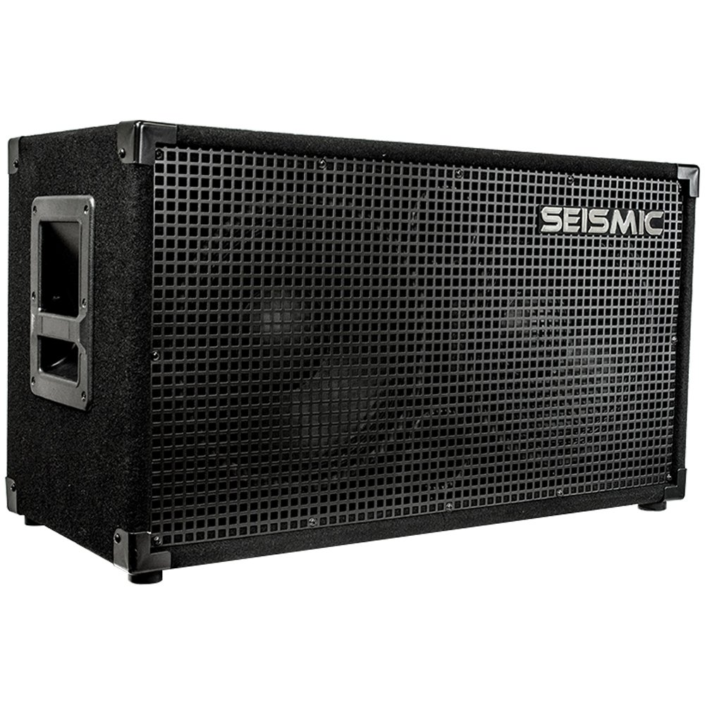 Seismic Audio - 212 GUITAR SPEAKER CABINET - 2x12 200 Watts PA/DJ PRO AUDIO by Seismic Audio