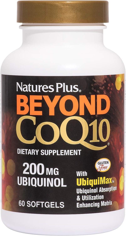 Beyond CoQ10 Ubiquinol 200 mg (60 Softgels) - Natures Plus