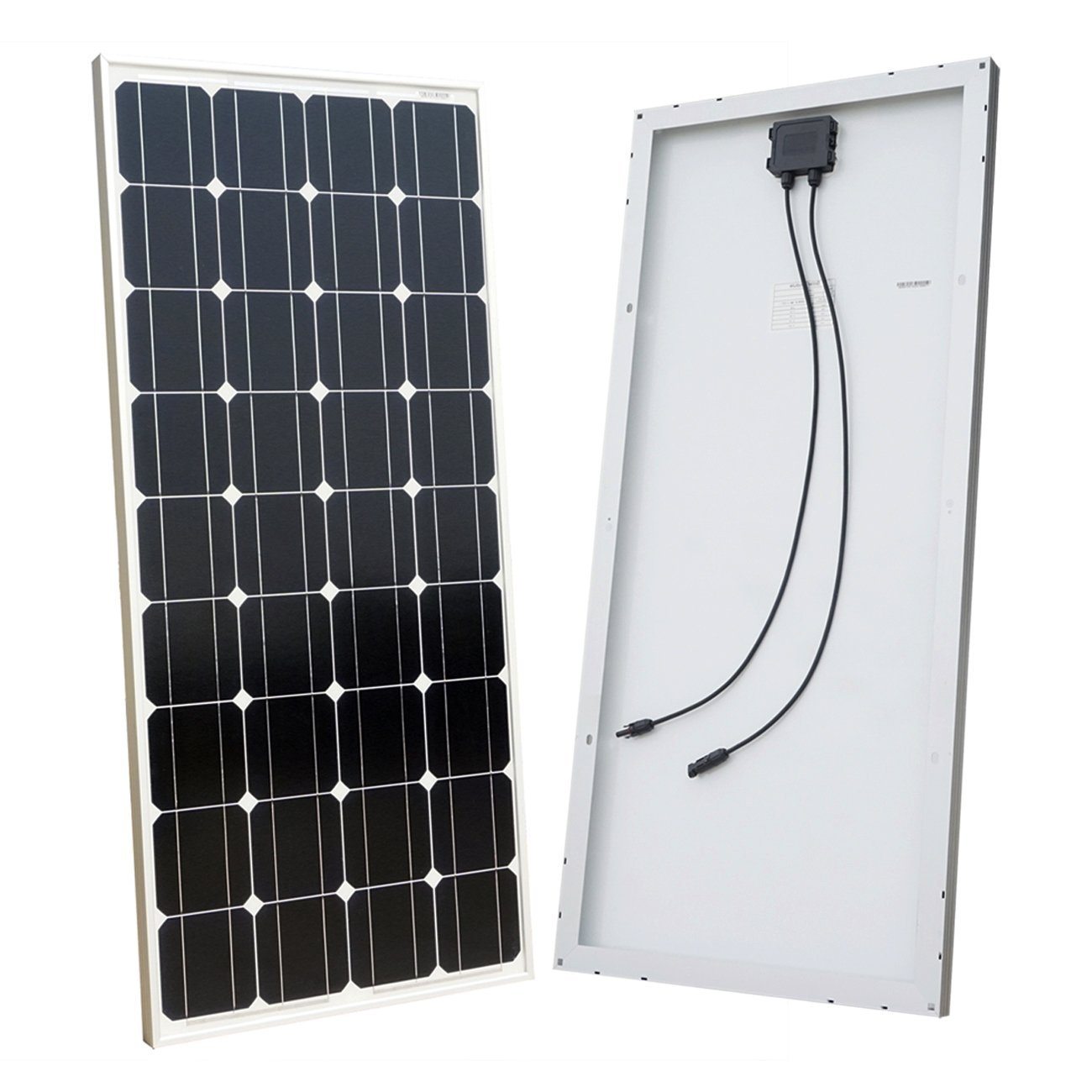 ECO-WORTHY 10W Solar Panel 10 Watt 12 Volt Pv Solar Module Solar Cell for 12 Volt battery Charger L02P10-N-1