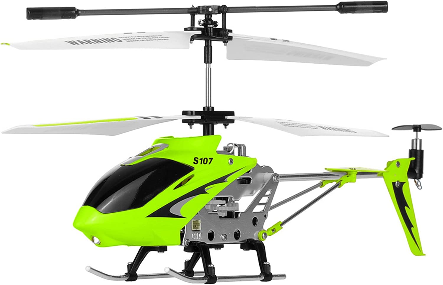 Amazon Com Syma S107g 3 Channel Rc Radio Remote Control Helicopter With Gyro Green Toys Games