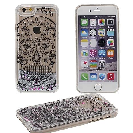 56291e01bcd Desconocido iPhone 6S Plus Duro Carcasa Protector, Fluido Polvos/Líquido  Patrón Tipo (Cabeza