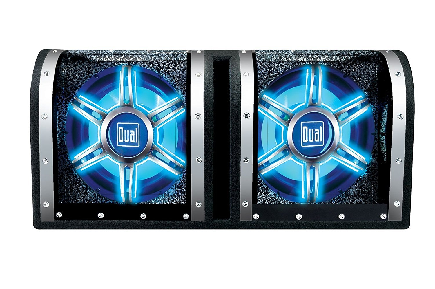 Dual Electronics Bp1204 12 Inch Illuminite High Subwoofers Will Consistent Power To Both Maximizing Your Performance Studio Enclosed Car With 1100 Watts Of Peak