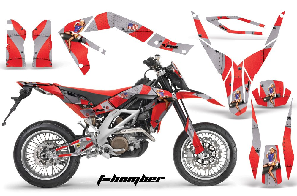 Factory Effex 19-07532 Rockstar Complete Shroud//Trim//Lower Fork Graphic Kit