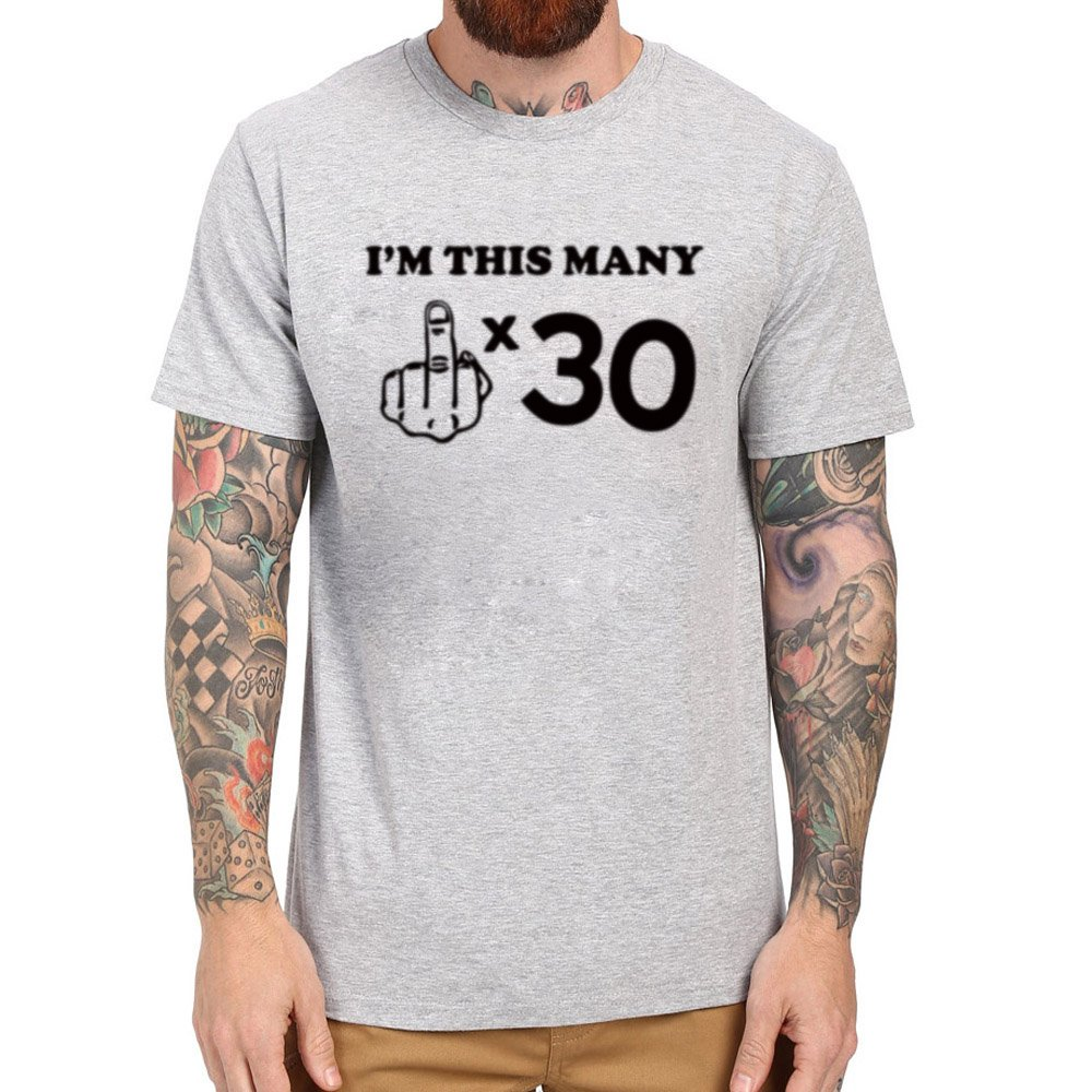 Loo Show S Funny 30th Birthday Gift Funny Casual T Shirts Tee