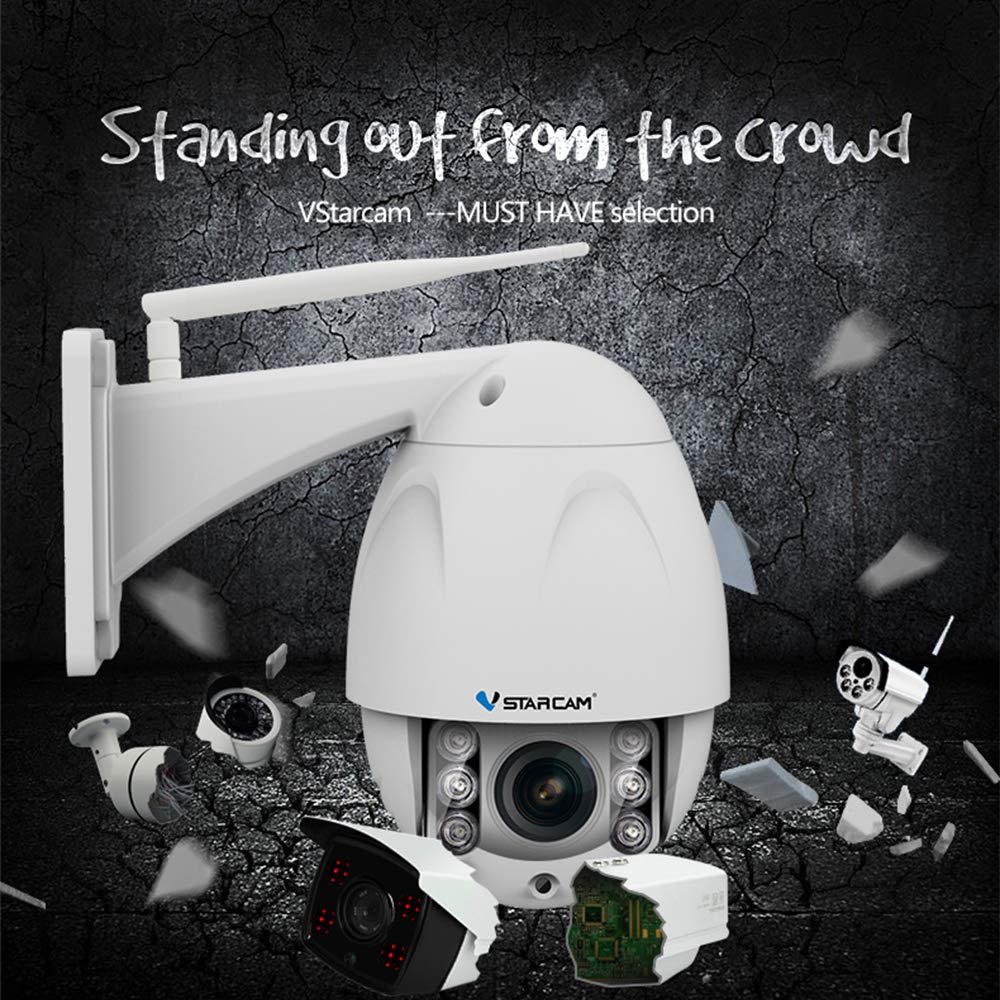 Vstarcam C34S-X4 HD 2 0MP 1080P Wireless PTZ Dome IP Camera Outdoor 4X Zoom  CCTV Security Video WiFi Network Surveillance Security with IR Cut Night