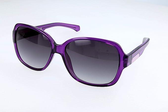 Calvin Klein Jeans Gafas de sol, Morado (Purple), 58.0 para ...