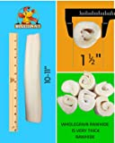 "Brazillian Pet Retriever Rolls 10"" 20 pack"