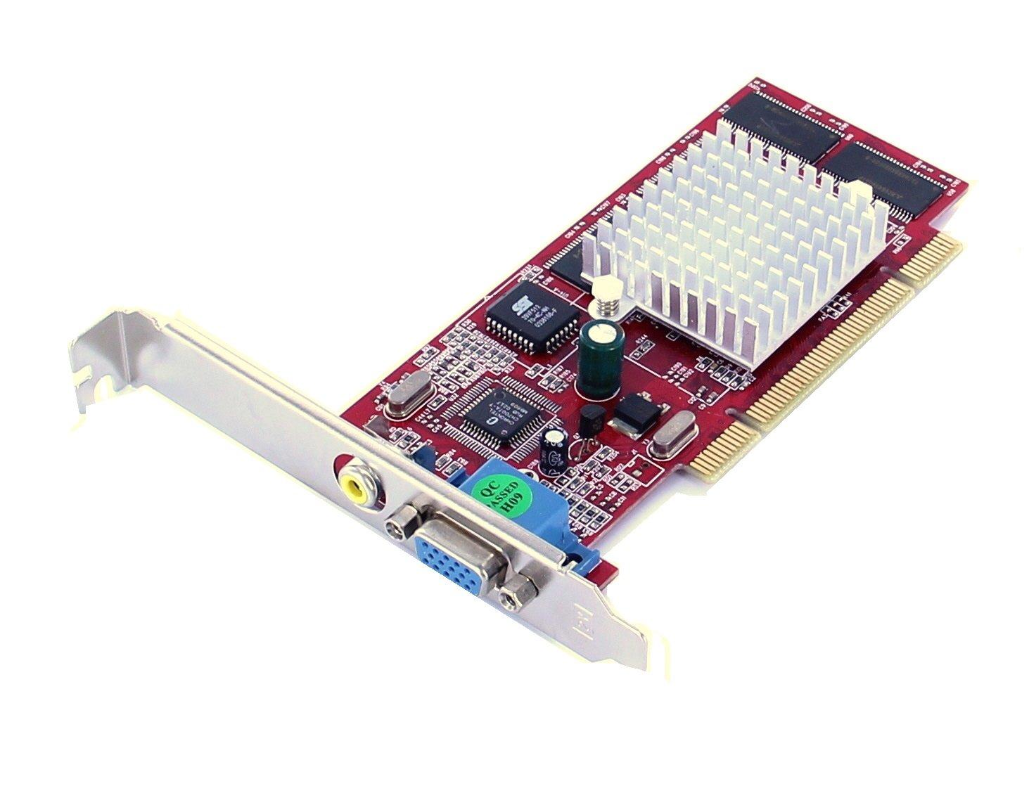 Tarjetas gráficas Nvidia GeForce PCI, 64 MB hasta 512MB memoria