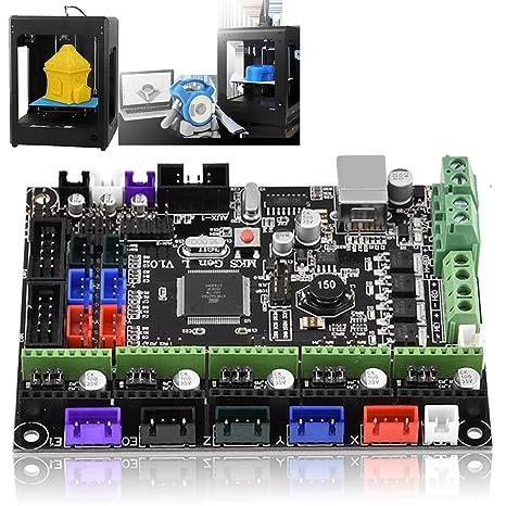 Mavis Laven Placa del Controlador de la Impresora 3D, MKS Gen L V1 ...