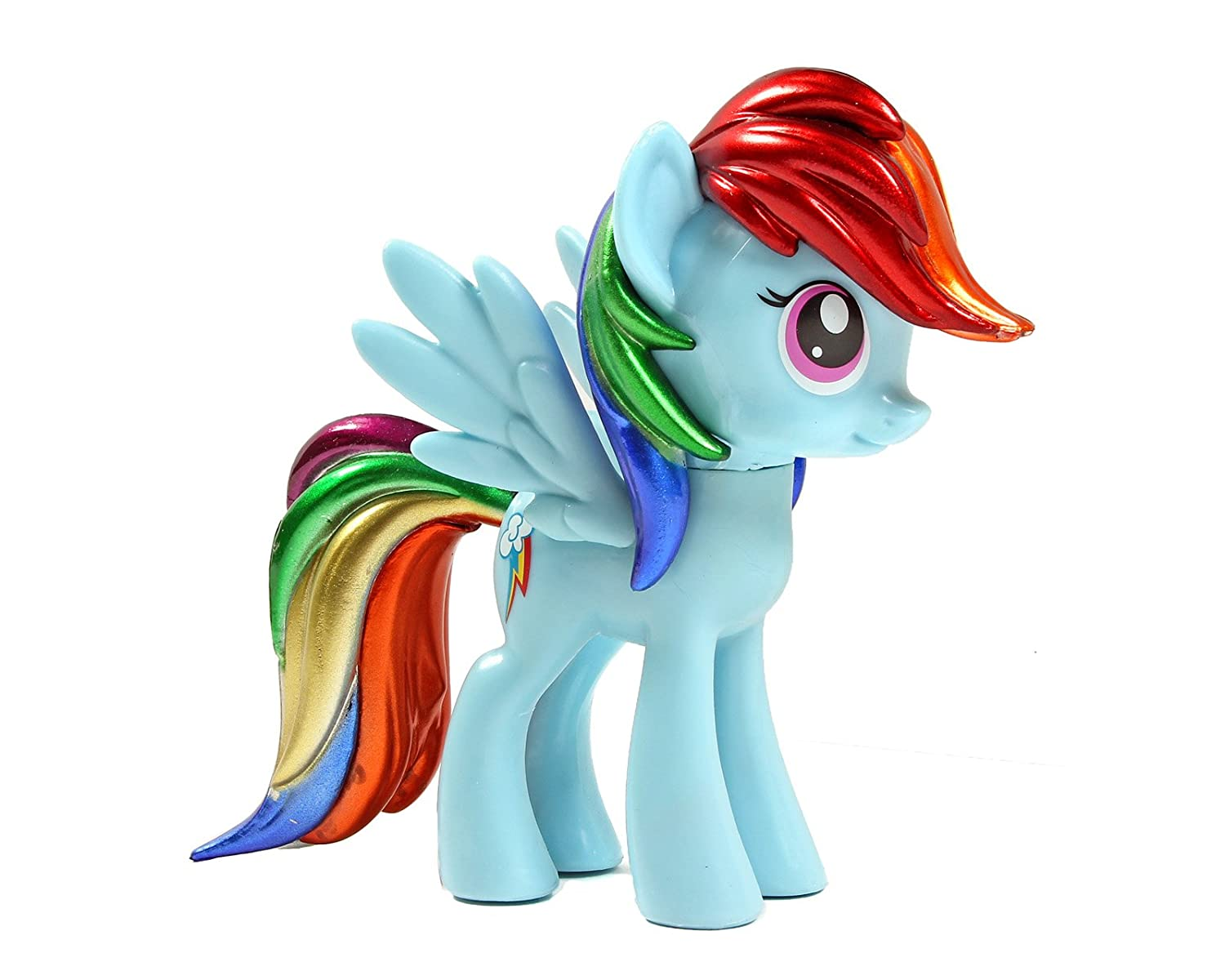 Funko Exclusive My Little Pony Rainbow Dash Metallic Vinyl Figure