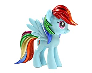 Funko Exclusive My Little Pony Rainbow Dash Metallic Vinyl Figure