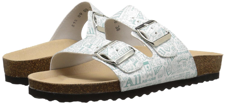Re-Sole Women's Buckle Sandal Flat