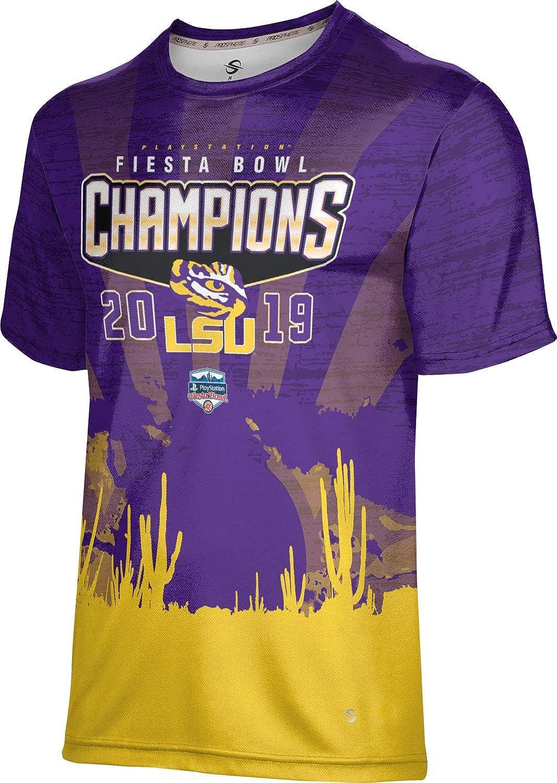 Louisiana State University Mens Performance T-Shirt Fiesta Bowl Champions 2019 Fiesta Bowl
