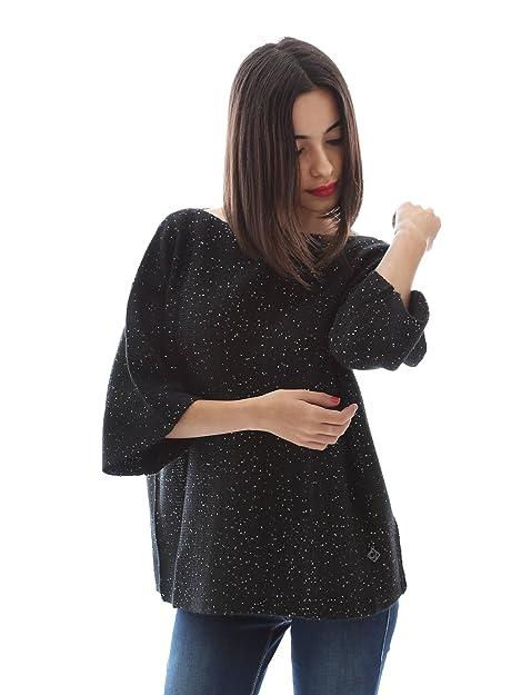 7fa10ad3a174c7 Gaudi jeans 64BD56212 Maglioncino Donna Nero Xs: Amazon.it: Scarpe e ...