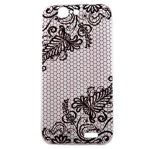 3 opinioni per HUANGTAOLI Custodia in Silicone TPU Phone Case Cover per Huawei Ascend G7