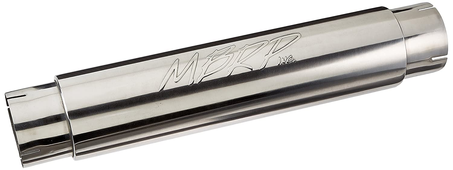 MBRP GP290022 XP Series 5' ID Inlet/Outlet 31' T409 Stainless Steel Single Muffler MBRP Exhaust