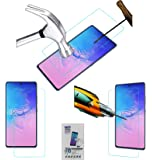 Acm Tempered Glass Screenguard Compatible with Samsung Galaxy S10 Lite Mobile Screen Guard