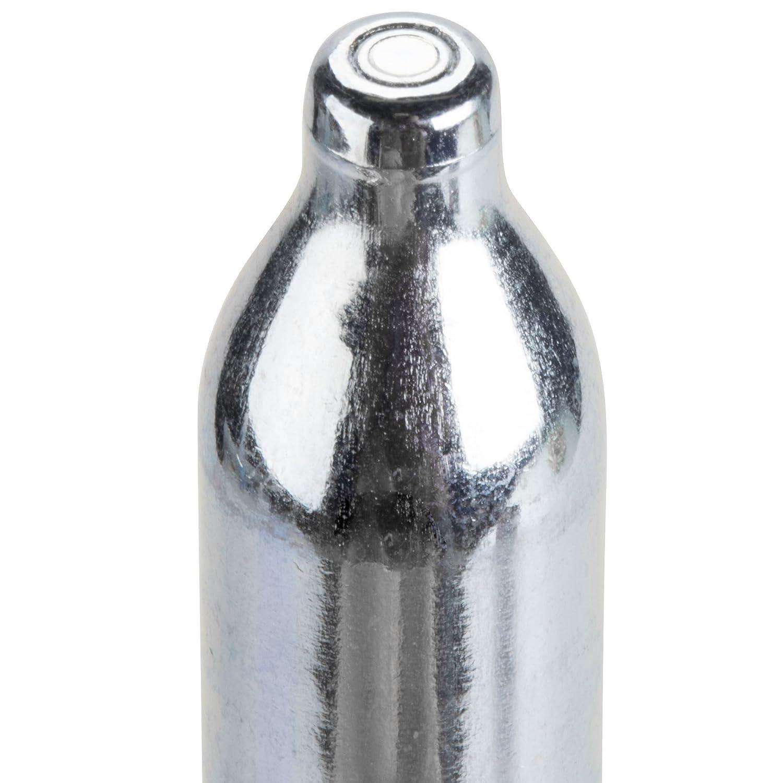 ICO Cartridges for Whipped Cream Dispensers, Steel, Matte White, 19 x 13 x 8.9 cm 100CHAR-C