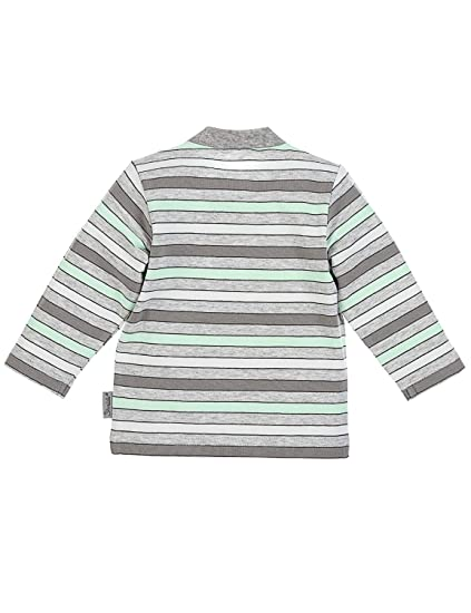 Grau Melange Gr/ö/ße: 74 Sterntaler Langarm-Shirt Waldis Filou Alter: 6-9 Monate