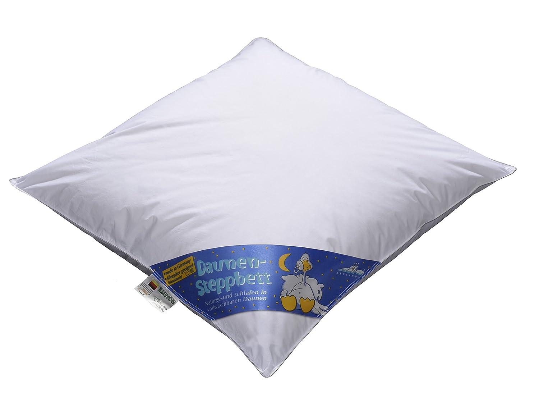 ARO Artländer 9043900 Nobless Baby-Bett, Sibirische weiße neu Gänsedaune 90% , Klasse 1, PREMIUMKLASSE, Größe 80 x 80 cm Größe 80 x 80 cm
