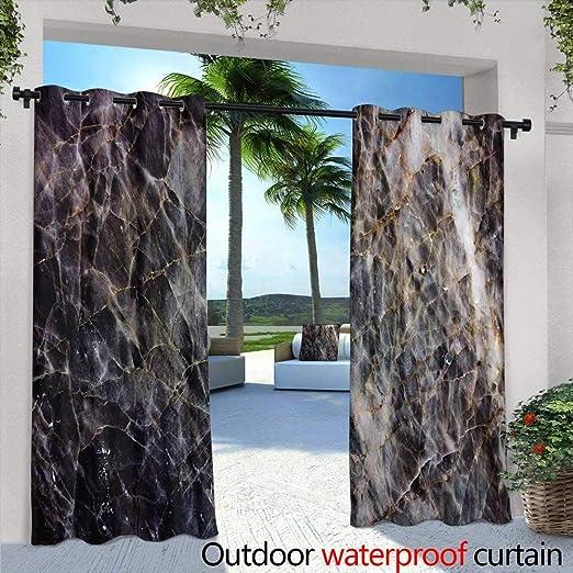 Cortina de privacidad para exteriores para Pergola, patrón redondo de encaje estilo mandala, estilo oriental, se