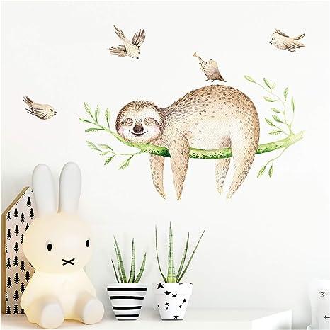 Wandtattoo Hasen Set  Wandsticker Poster Wandaufkleber Wandbild Wanddeko Tiere