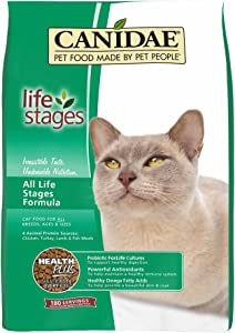 Canidae Life Stages Dry Cat Food For Kittens, Adults & Seniors