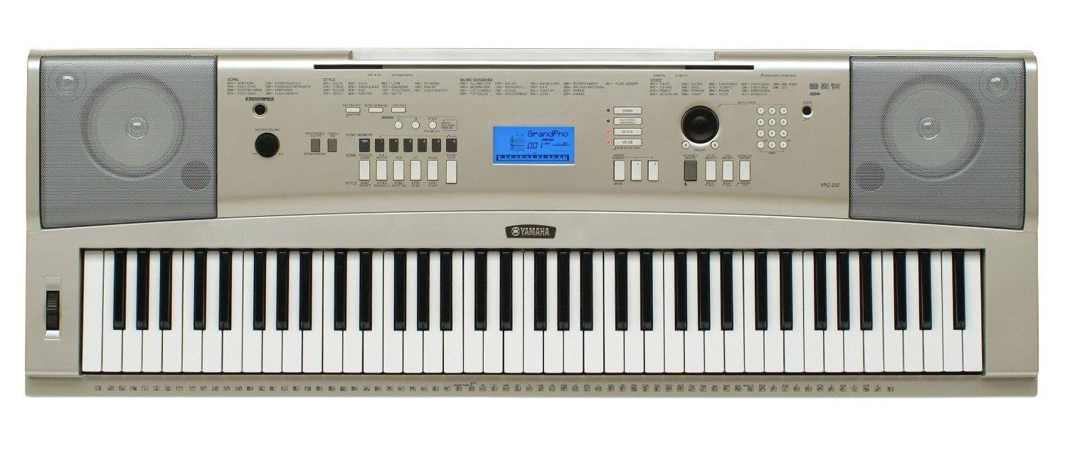 Yamaha YPG-235 Vs. Casio WK-245