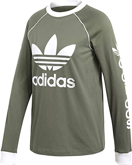 Pullovers Fitness Adidas T shirt manches longues femme