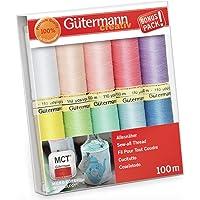 Gutermann Lot de filetage, Multicolore