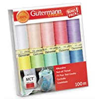 Gutermann Lot de filetage, Multicolore