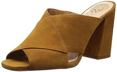 Vince Camuto Women's Jevan Slide Sandal, Deep Rust, ...
