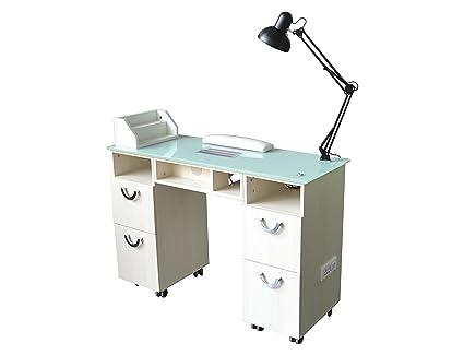 Tavolo Da Lavoro Ricostruzione Unghie : Polironeshop creta tavolo postazione per manicure ricostruzione